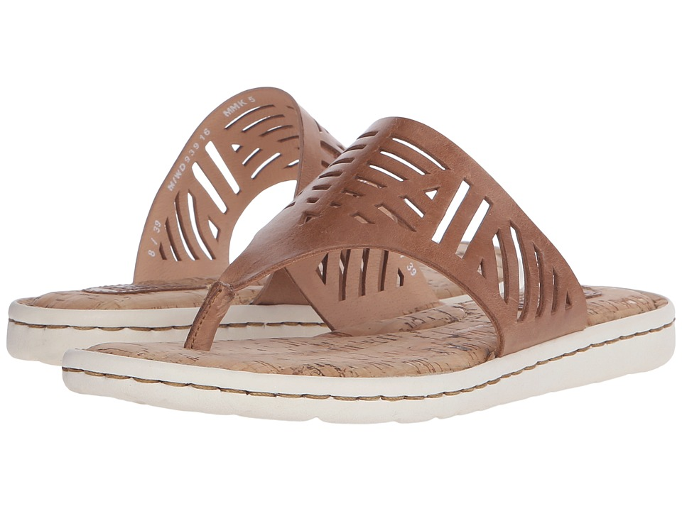 Born - Eliora (Tan Full Grain Leather) Womens Sandals