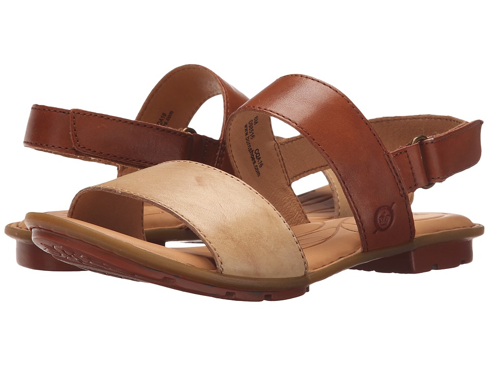 Born Wendy Grezzo/Etiope Full Grain Leather Womens Sandals