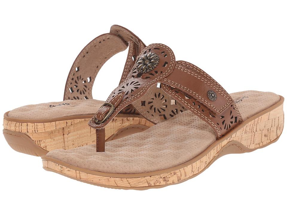 SoftWalk Beaumont Laser Luggage Womens Sandals