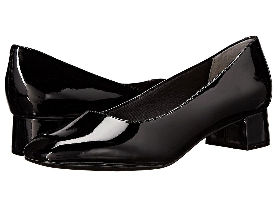 Trotters - Lola (Black Soft Patent Leather) Women