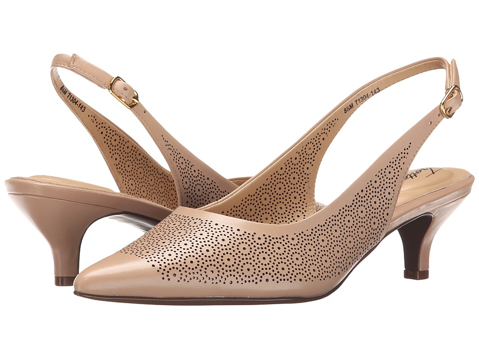 Trotters Prima Nude Womens 1 2 inch heel Shoes