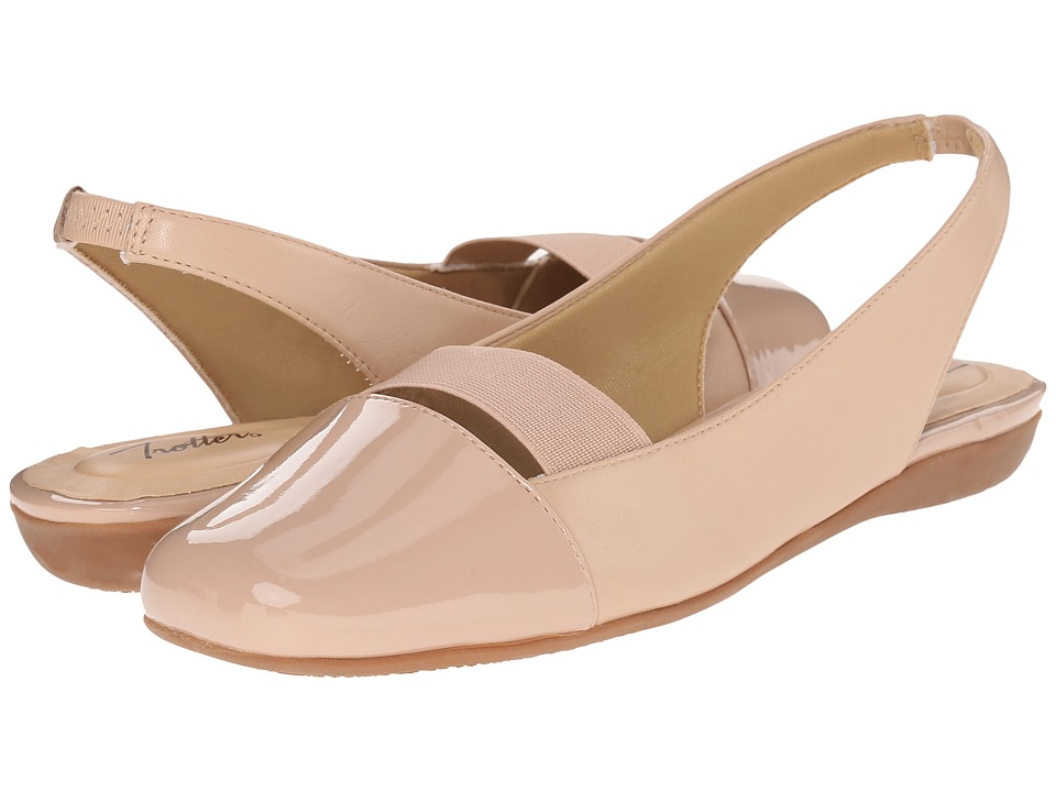 Trotters Sarina Nude Womens Slip on Dress Shoes