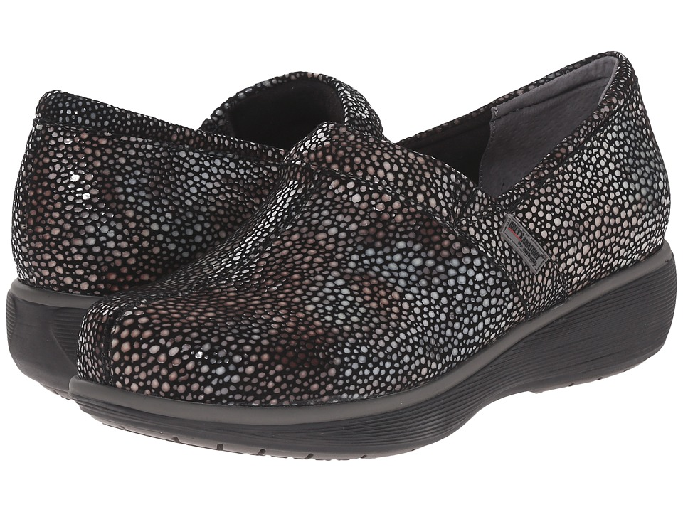SoftWalk Meredith Multi Mosiac Leather Womens Slip on Shoes