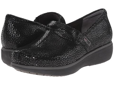 SoftWalk Meredith - Black Mosiac Leather