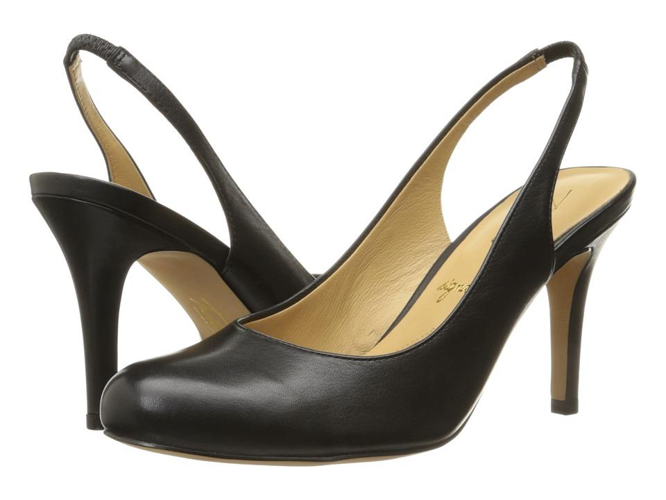Trotters - Gidget (Black Glazed Kid Leather) High Heels