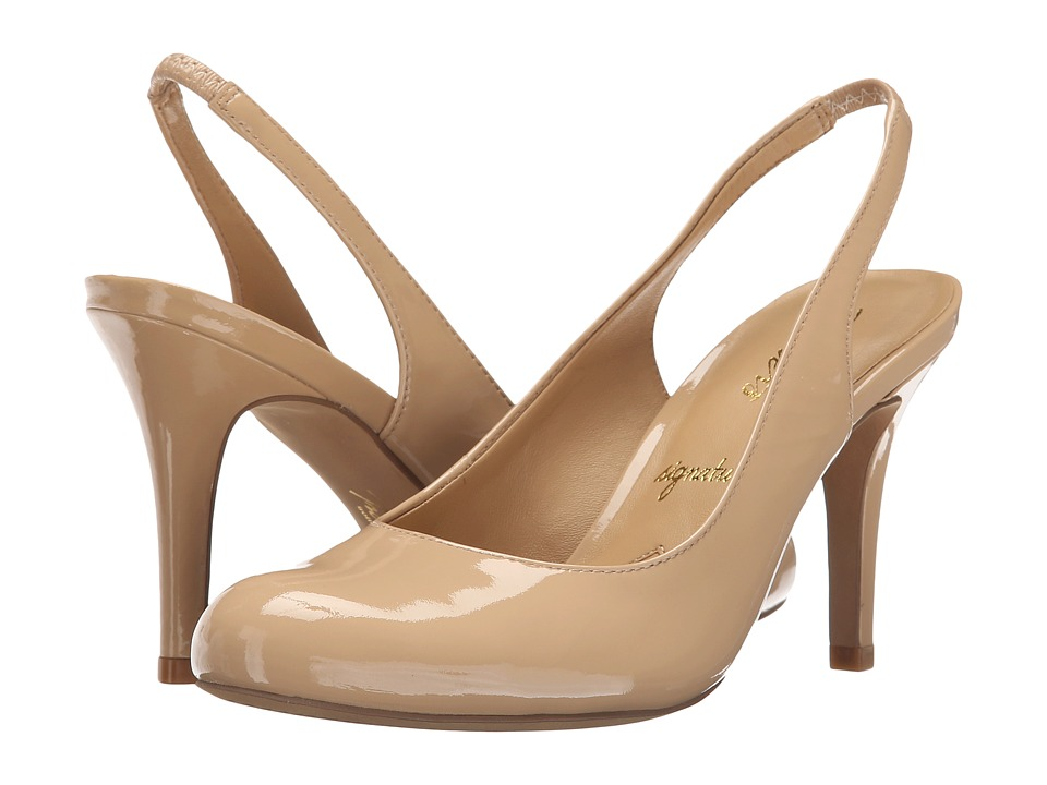Trotters - Gidget (Nude Soft Patent Leather) High Heels