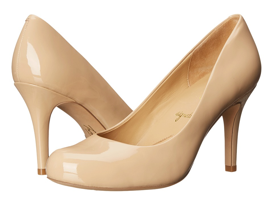 Trotters - Gigi (Nude Soft Patent Leather) High Heels