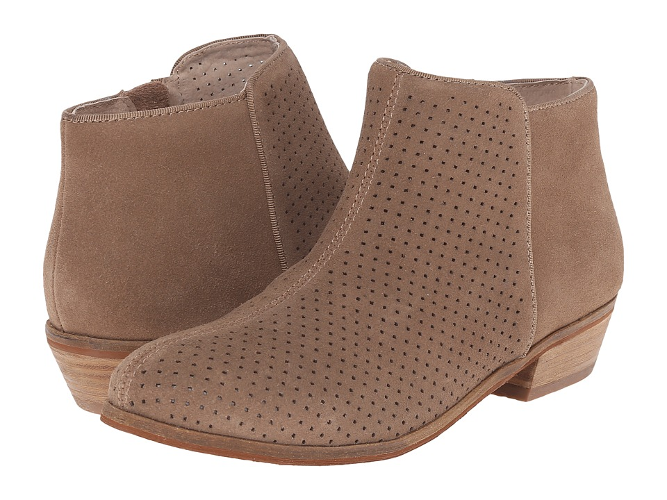 SoftWalk Rocklin Dark Nude Perf Suede Womens Shoes