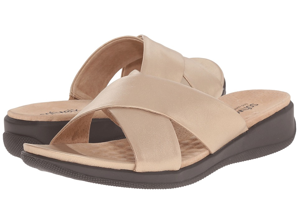 SoftWalk Tillman Goldwash Soft Nappa Leather Womens Shoes