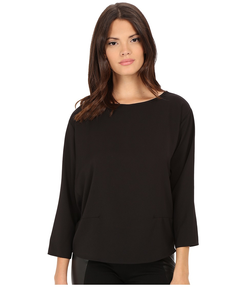 ONLY Main Dart Blouse Black Womens Clothing