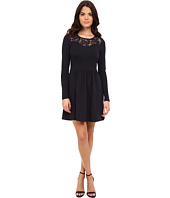 ONLY - Niella New Long Sleeve Lace Insert Dress