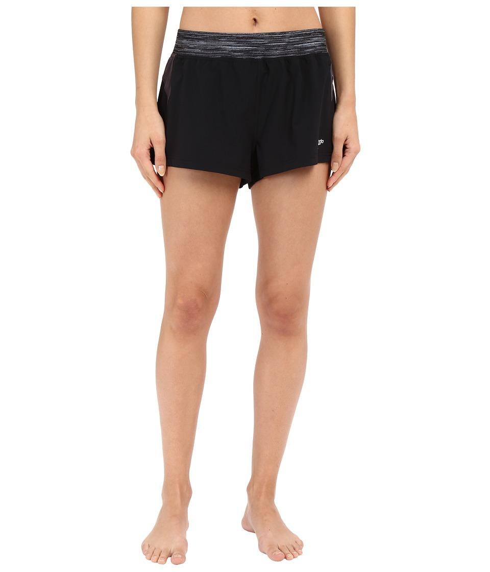 Speedo 4 Way Stretch Shorts Speedo Black Womens Swimwear