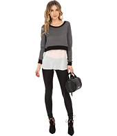 ONLY - Sally Long Sleeve Mix Media Top