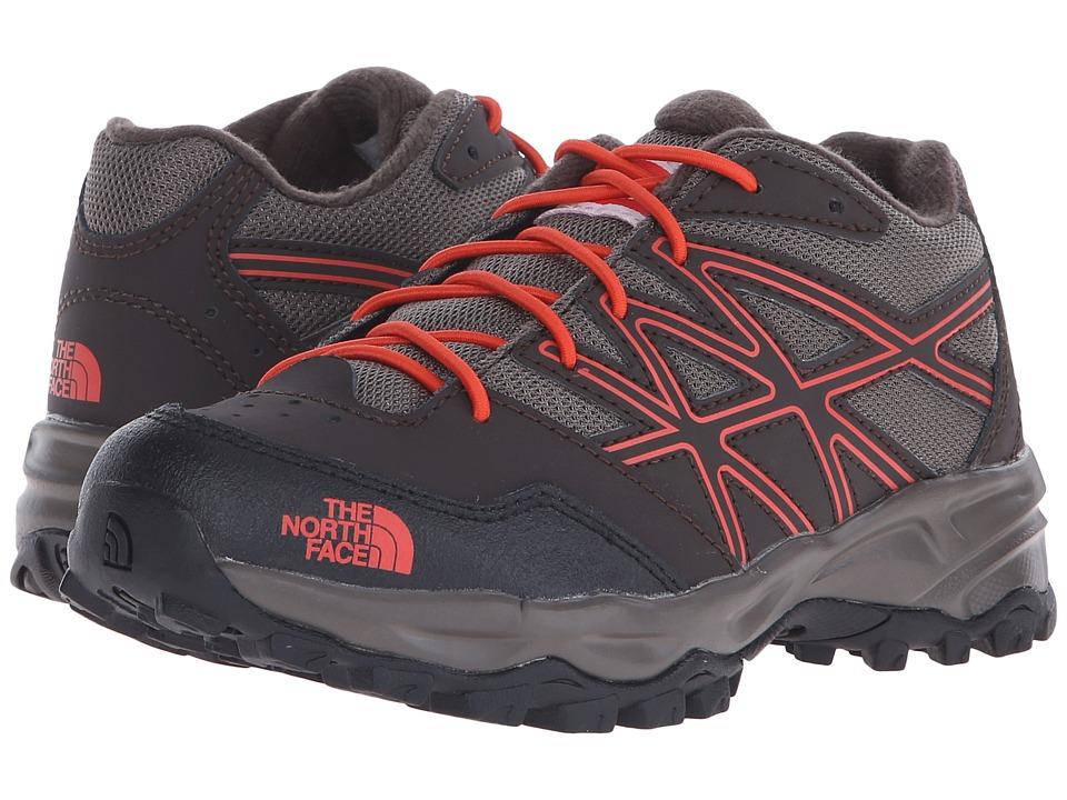 The North Face Kids - Jr Hedgehog Hiker(Little Kid/Big Kid) (Coffee Brown/Valencia Orange) Boys Shoes