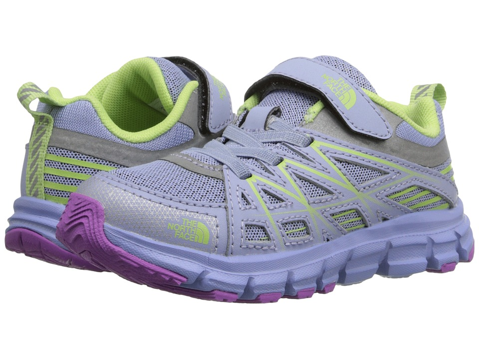 The North Face Kids - Endurance(Toddler/Little Kid) (Collar Blue/Budding Green) Girls Shoes