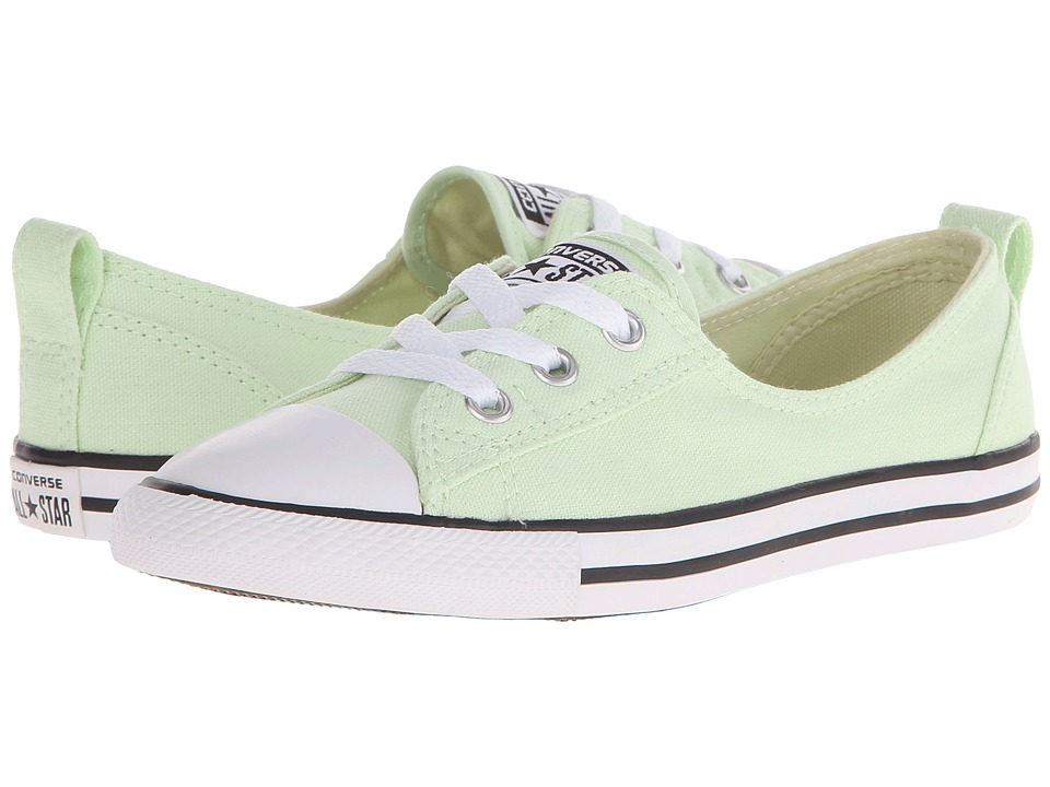 Converse Chuck Taylor All Star Fashion Basics Ballet Lace Pistachio Green/Black/White Womens Lace up casual Shoes