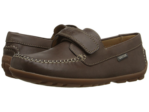 Geox Kids Jr Fast 20 (Big Kid) - Brown