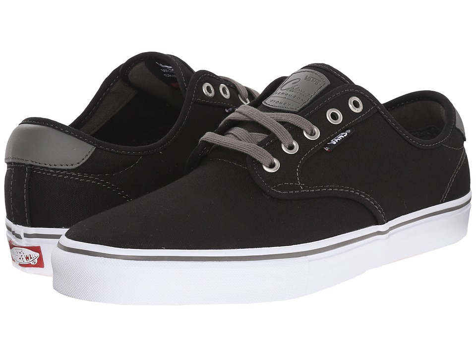 Vans - Chima Pro (Black/Charcoal/White) Men