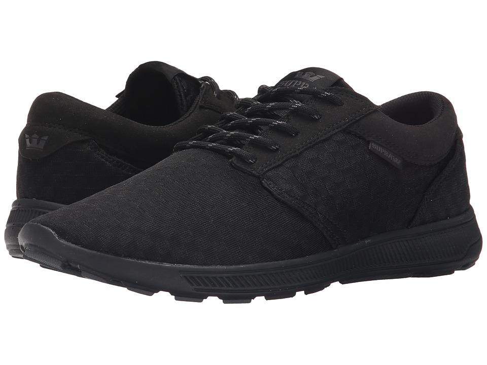 Supra - Hammer Run (Black/Black/Black 2) Mens Skate Shoes