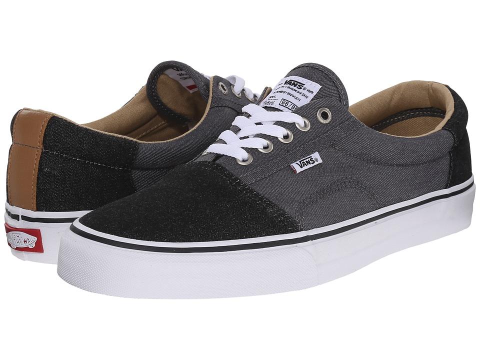 Vans Rowley Solos Two Tone Black/Pewter Mens Skate Shoes