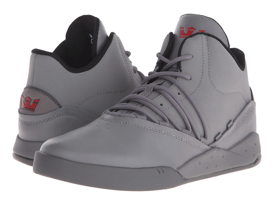 Supra Estaban Charcoal/Charcoal Mens Skate Shoes