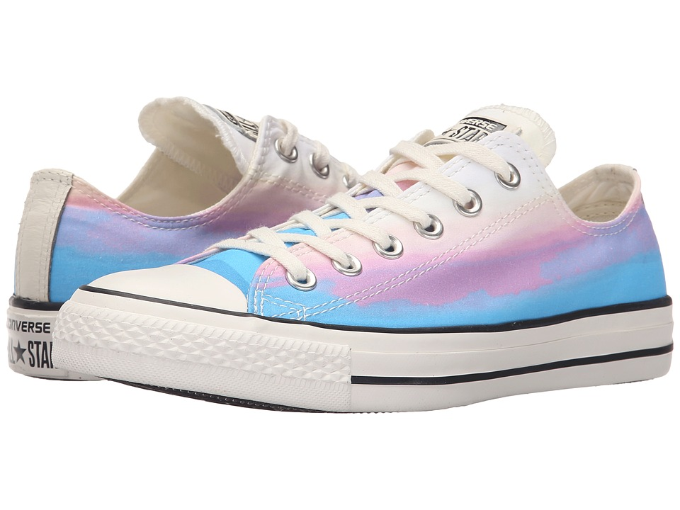 Converse Chuck Taylor All Star Sunset Ox Daybreak Pink/Motel Pool/Egret Womens Lace up casual Shoes