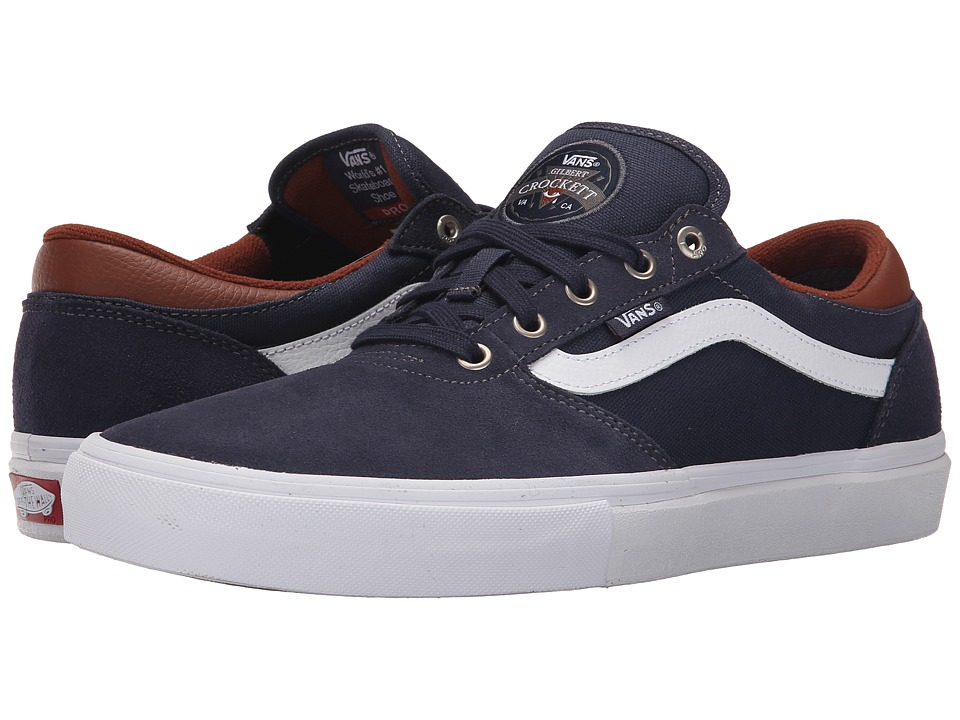 Vans - Gilbert Crockett Pro (Navy/White/Leather) Men