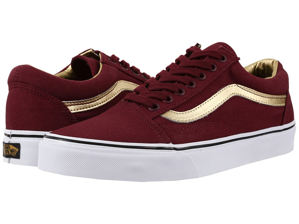 Vans Old Skool 50th Port Royale/Gold Skate Shoes