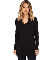 Three Dots - Long Sleeve Funnel Neck Tunic