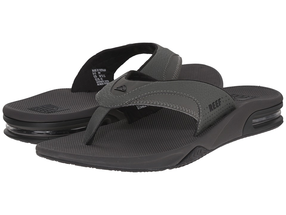 Reef Fanning (Grey/Black) Men