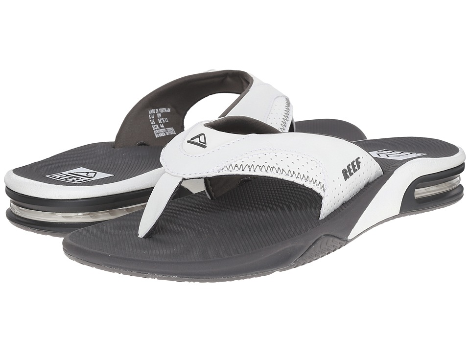 Reef Fanning (Grey/White) Men
