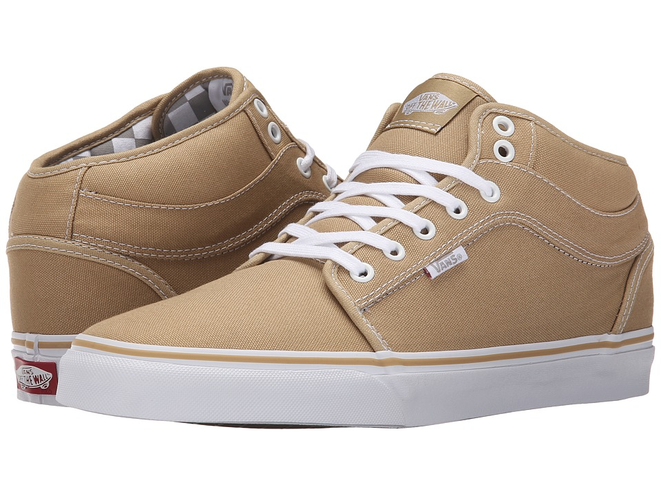 Chukka Mid Top (Tan/Inner Check)