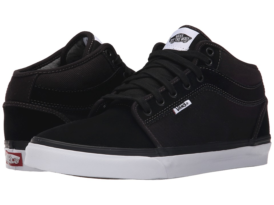 Chukka Mid Top ((Distortion) Black/White)