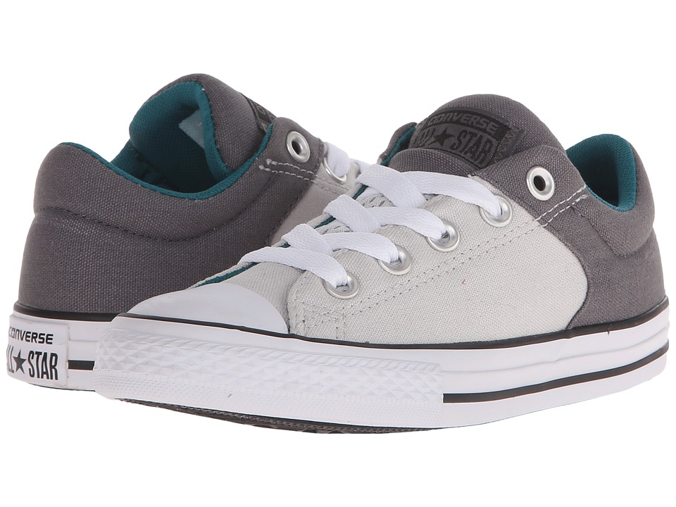 Converse Kids Chuck Taylor All Star High Street Slip Little Kid/Big Kid Thunder/Mouse/Rebel Teal Boys Shoes