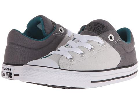 converse gray slip on  street slip