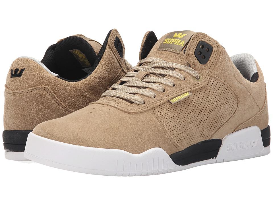 Supra - Ellington (Khaki/Black/White) Mens Shoes