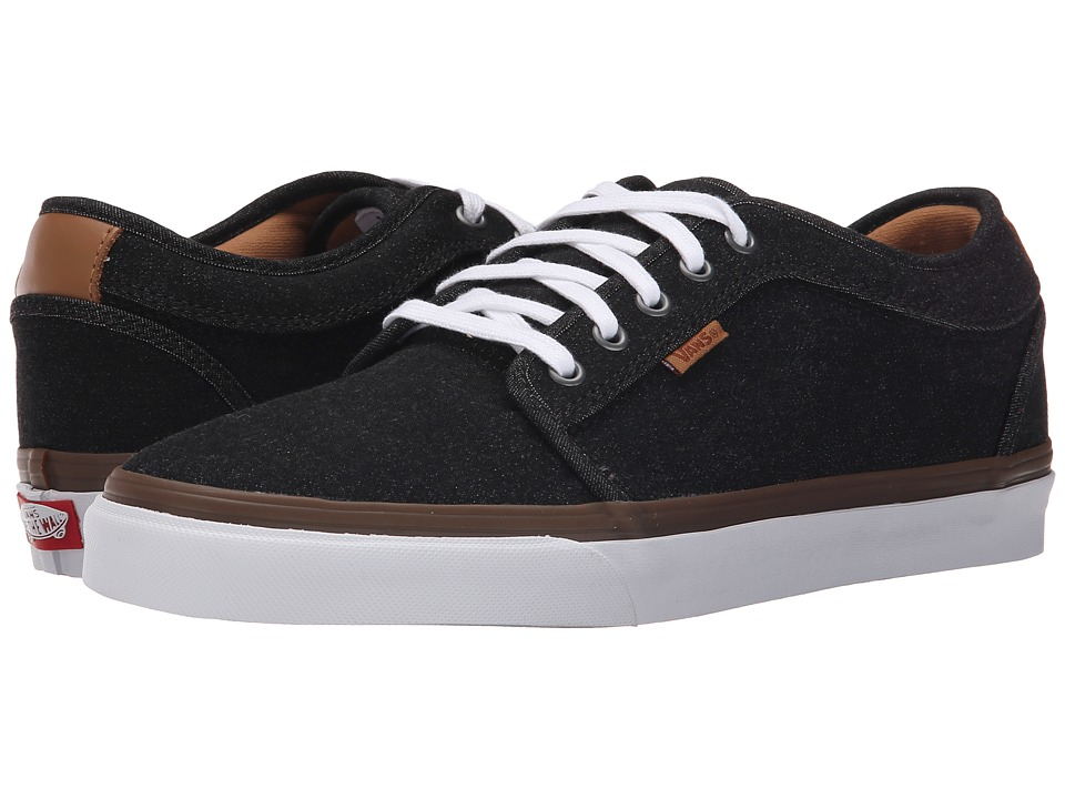 Vans - Chukka Low ((Denim) Black/White) Men