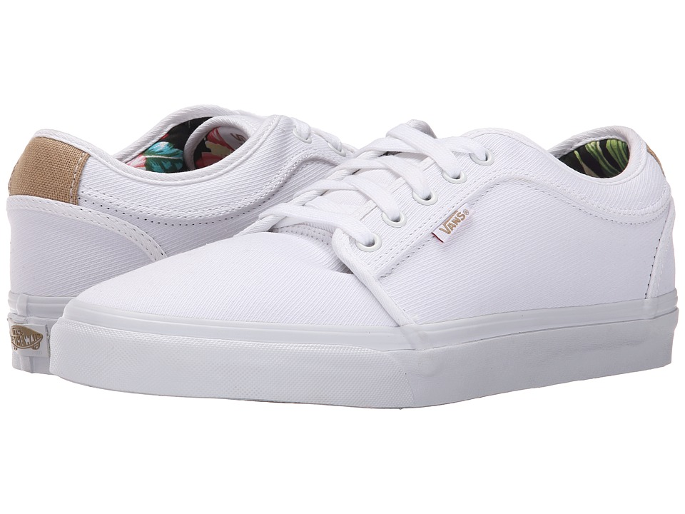 Vans - Chukka Low ((Aloha) White Twill) Mens Skate Shoes