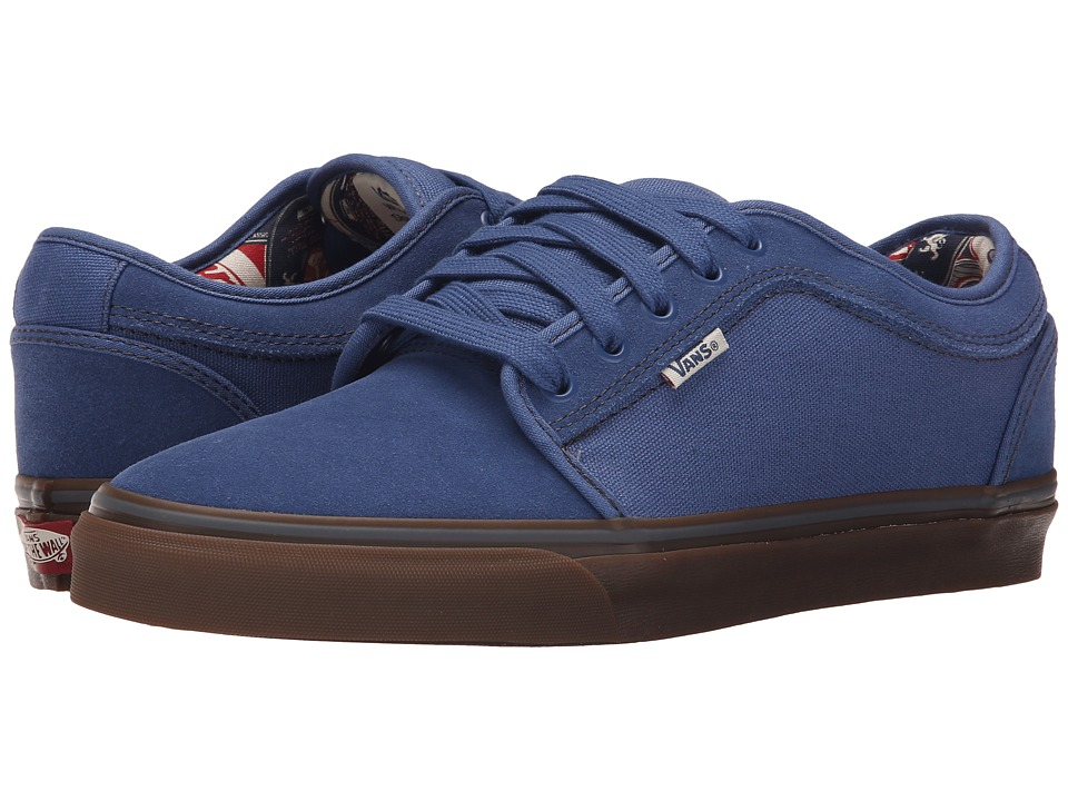 Vans - Chukka Low ((Labels) Blue/Gum) Men