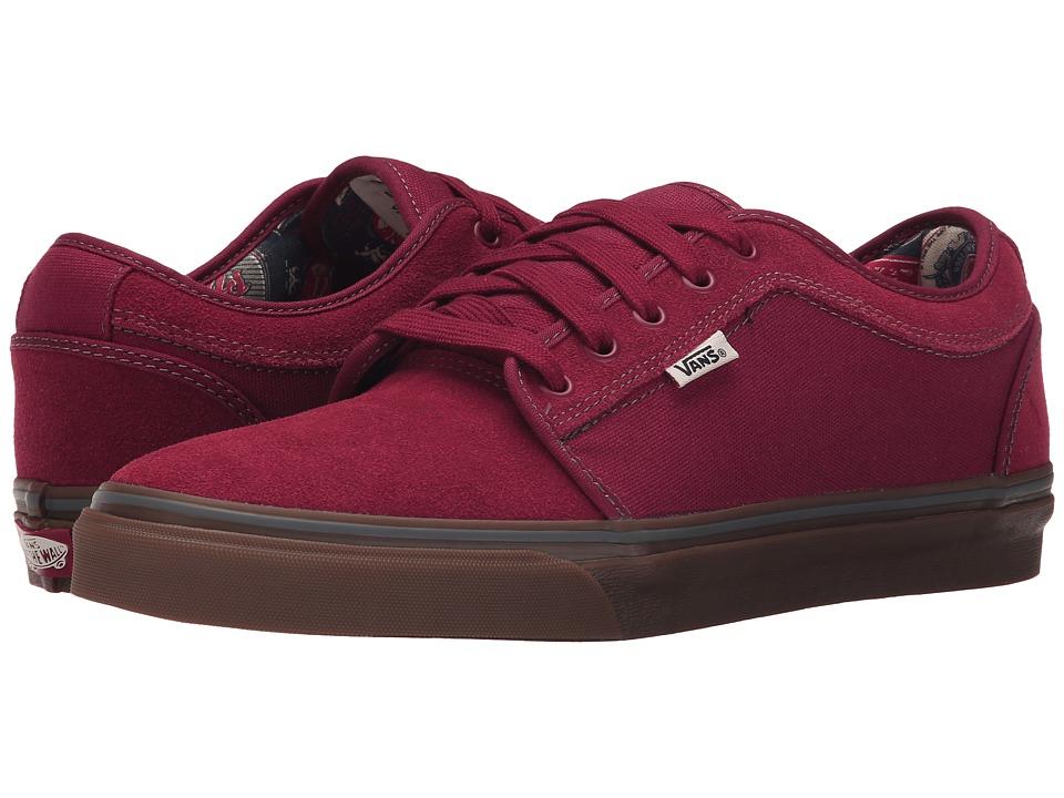 Vans - Chukka Low ((Labels) Rhubarb/Gum) Mens Skate Shoes