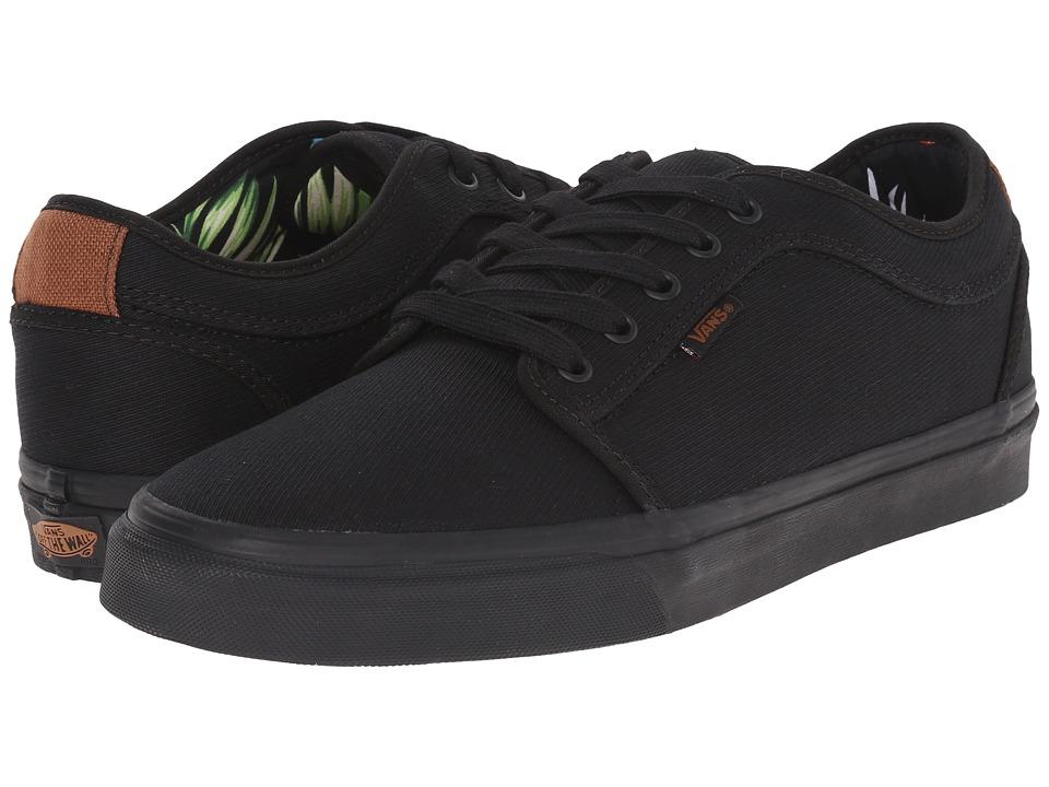 Vans - Chukka Low ((Aloha) Black Twill) Mens Skate Shoes
