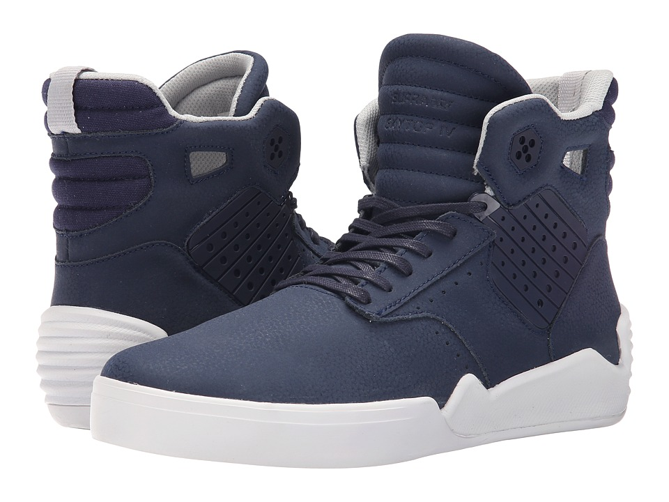 Supra Skytop IV Navy/White Mens Skate Shoes