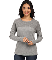Three Dots - Reverse Panel Sweatshirt