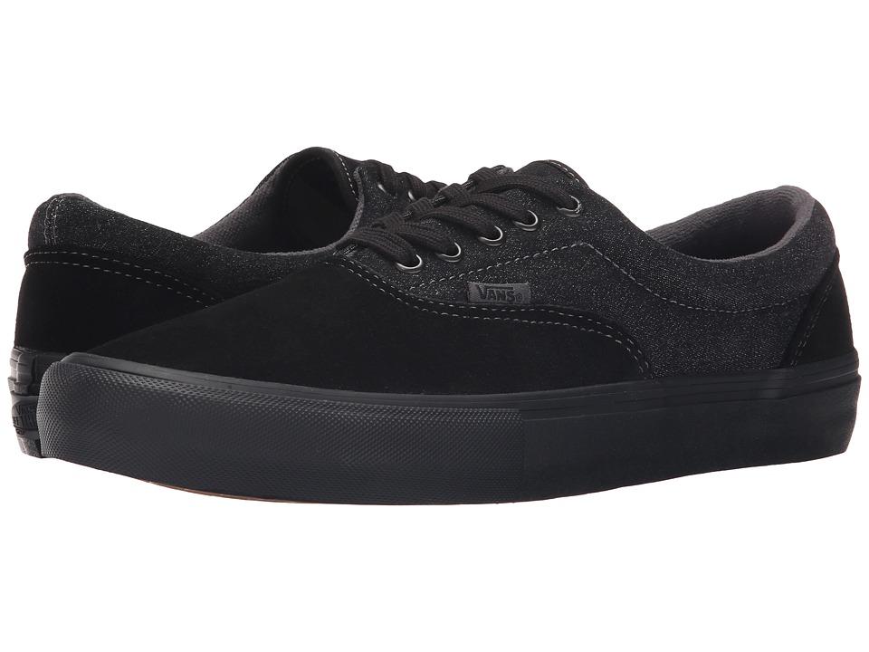 Vans Era Pro Black/Black/Asphalt Mens Skate Shoes
