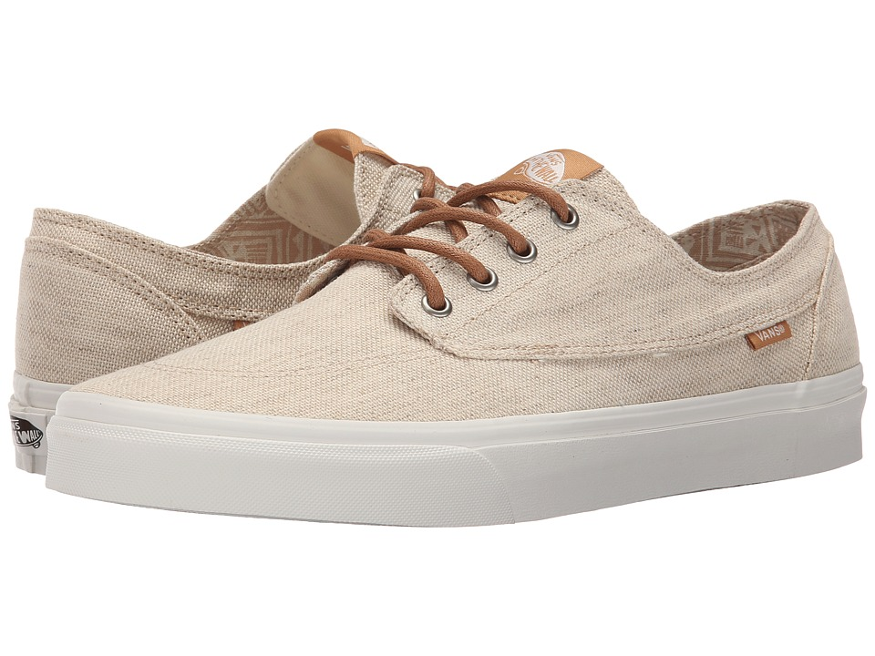 Vans Brigata Pacific Isle Natural/Blanc de Blanc Skate Shoes