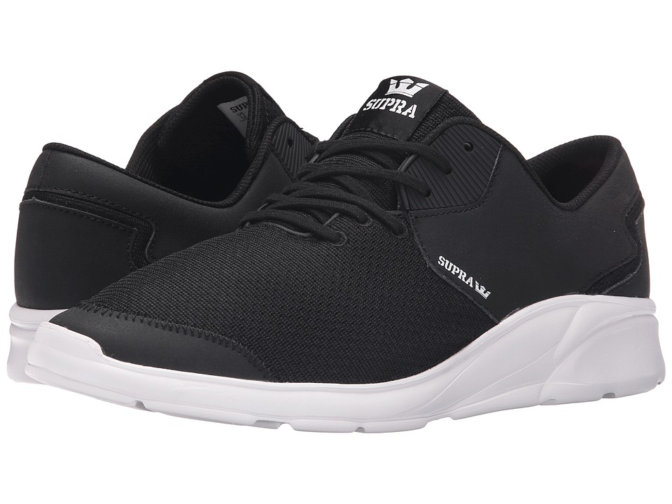 Supra Noiz Black/White Mens Skate Shoes