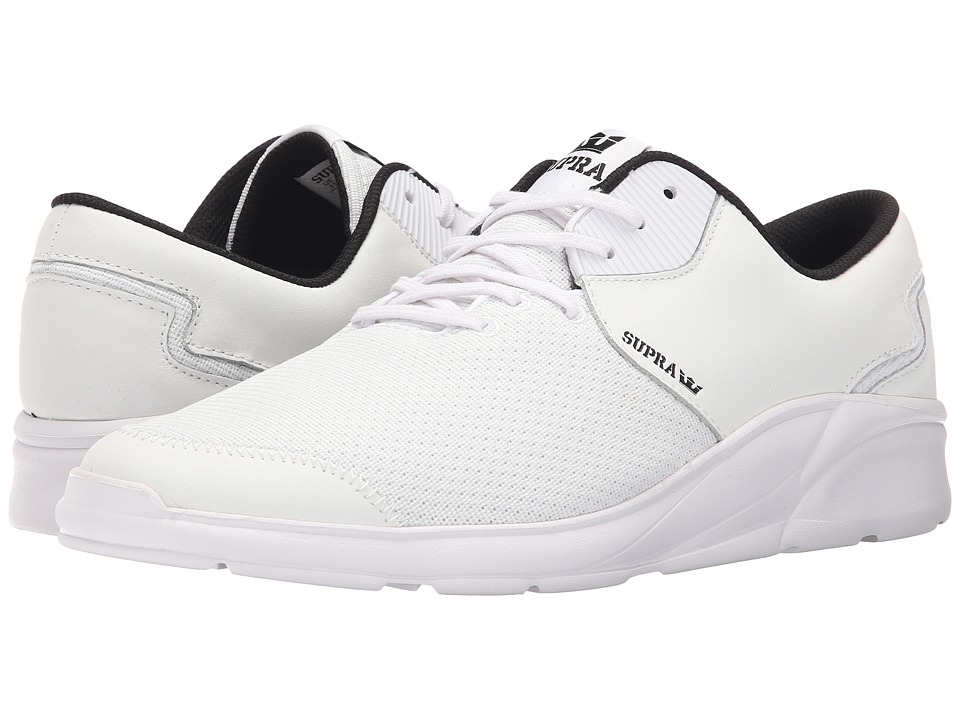 Supra Noiz White/White Mens Skate Shoes