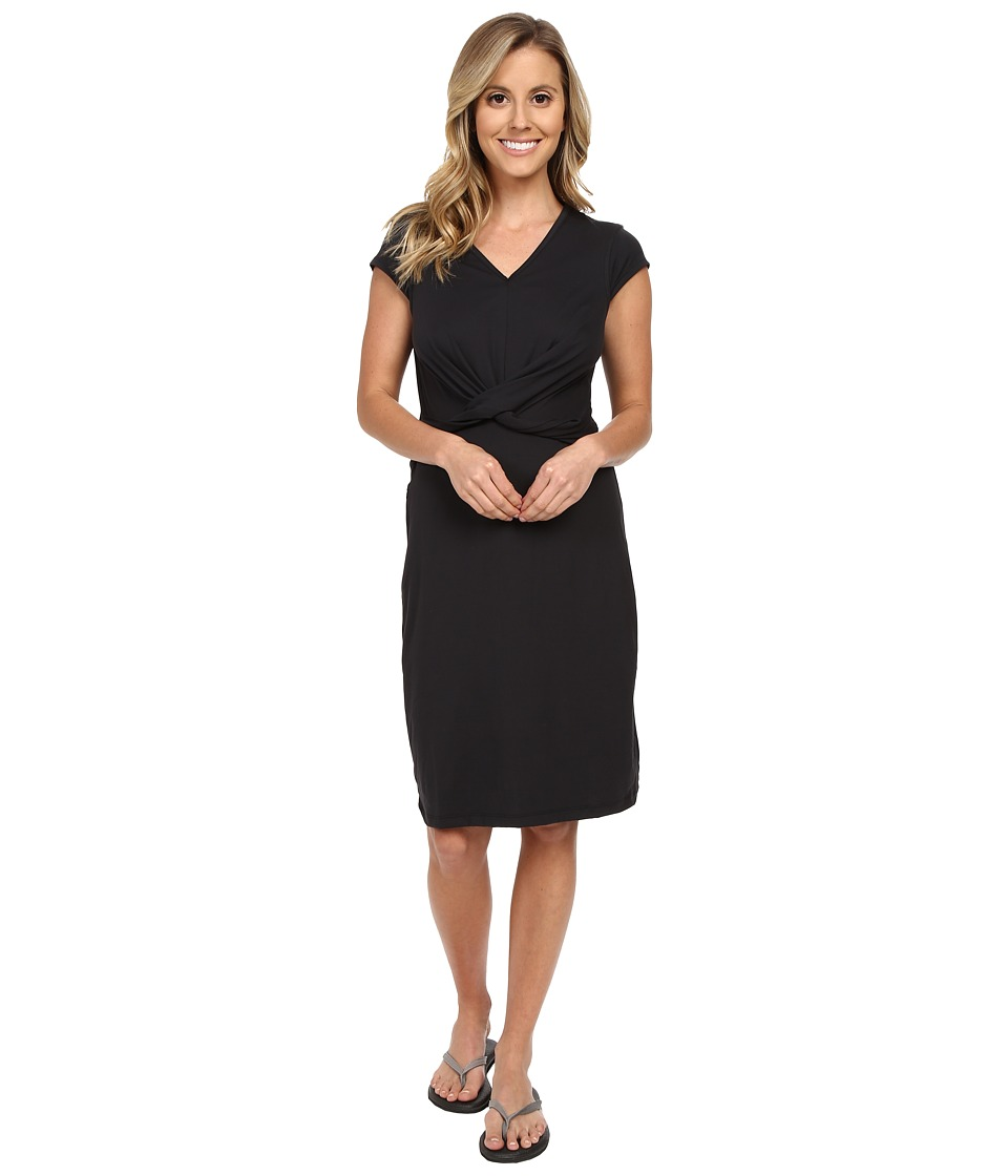 ExOfficio Wanderlux Twist Dress Black Womens Dress