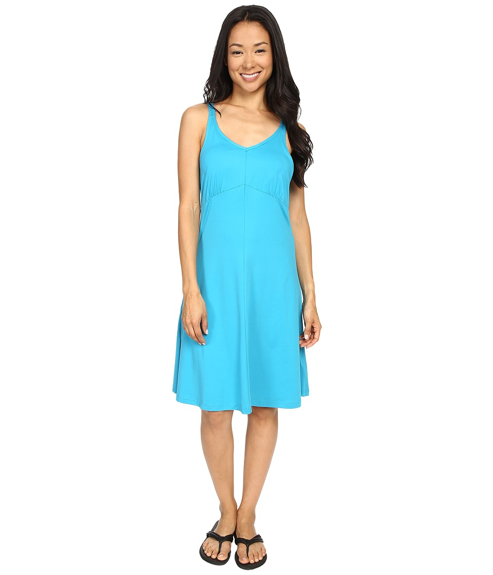 ExOfficio Wanderlux Tank Dress Deap Sea Womens Dress