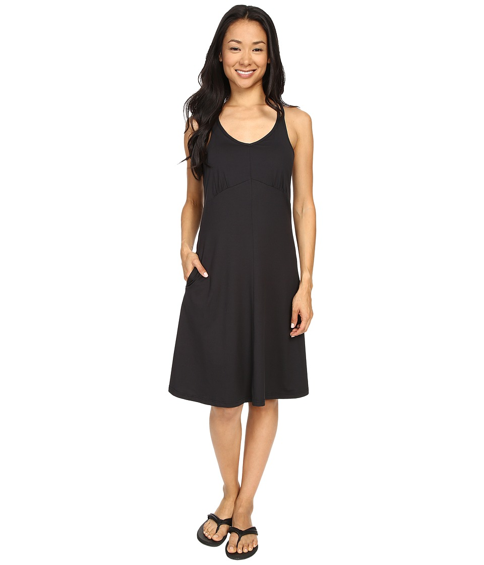 ExOfficio Wanderlux Tank Dress Black Womens Dress